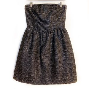 NWT GAP Strapless Fit and Flare Dress